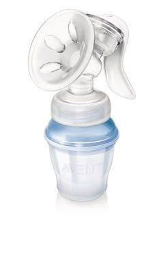 Молокоотсос Philips Молокоотсос ручной с системой хранения молока VIA AVENT SCF330/12 Natural - фото 1