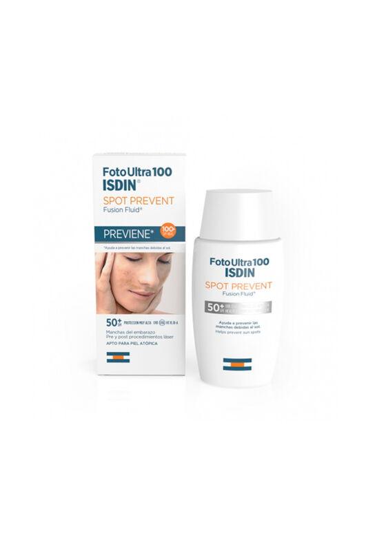 ISDIN Флюид для лица Foto Ultra 100 Spot Prevent SPF 50+, 50 мл - фото 1