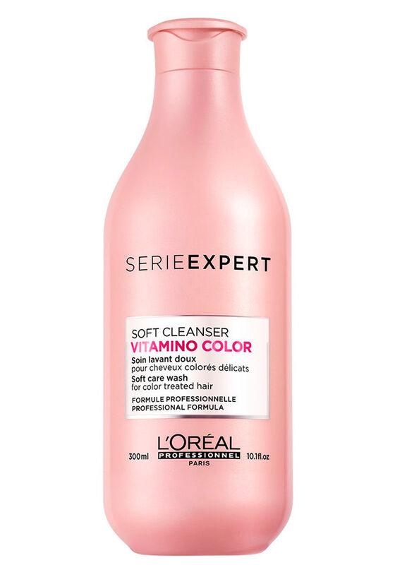 Loreal Шампунь без сульфатов Vitamino Color Resveratrol Soft Cleanser 300мл - фото 1
