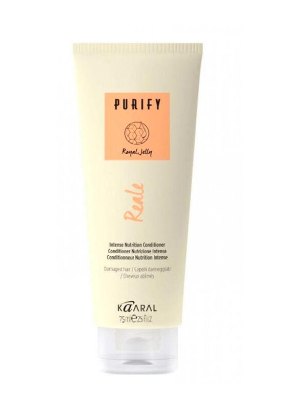 Kaaral Кондиционер для поврежденных волос PURIFY REALE Intence nutrition conditioner интенсивный восстанавливающий 75 мл - фото 1