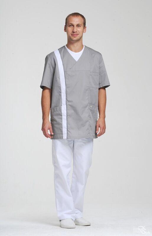 Доктор Стиль Блуза мужская Апрель - фото 3