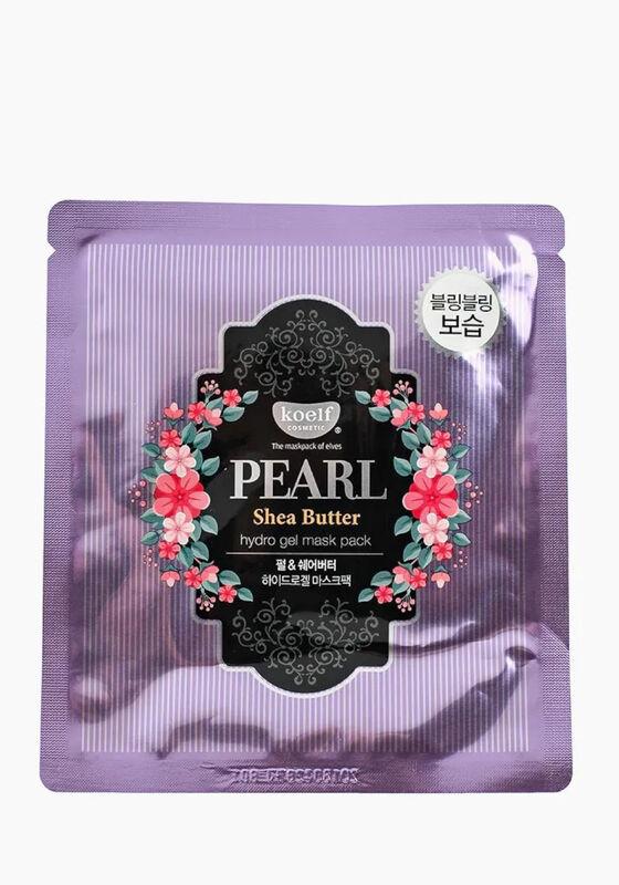 KOELF Маска для лица гидрогелевая с маслом ши и жемчужной пудрой PEARL&SHEA BUTTER, 1 шт - фото 1