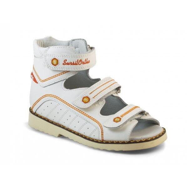 Sursil Ortho Ортопедические сандалии для девочек 15-254 - фото 1