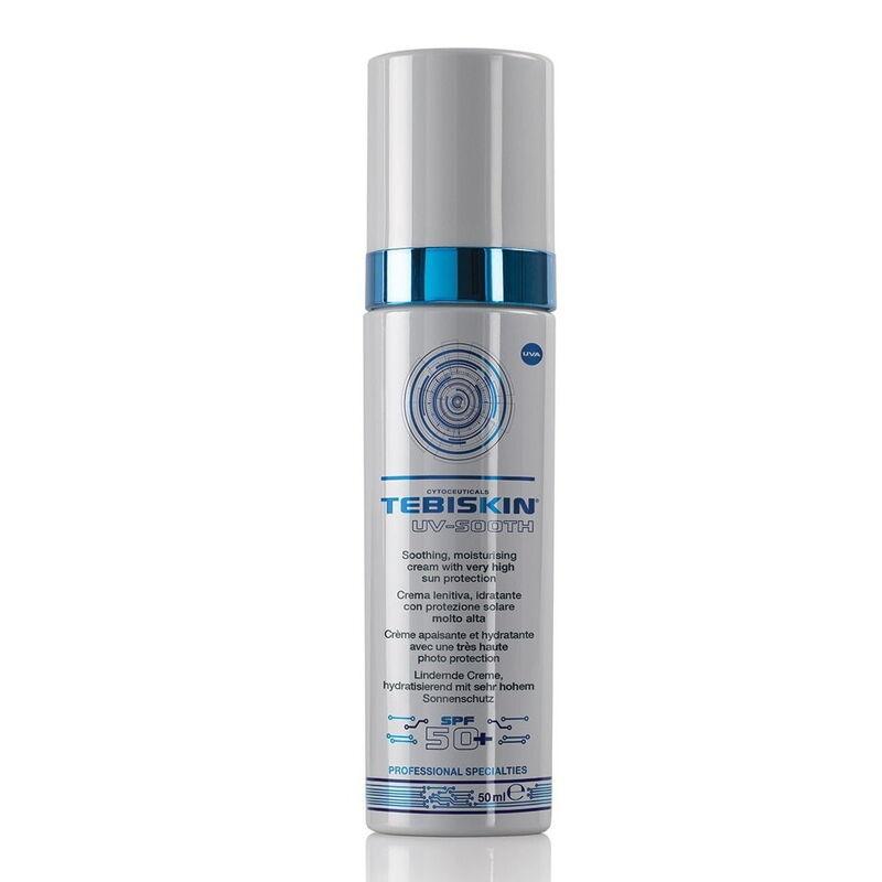 Tebiskin Солнцезащитная эмульсия для всех типов кожи UV-Sooth Cream SPF 50 - фото 1
