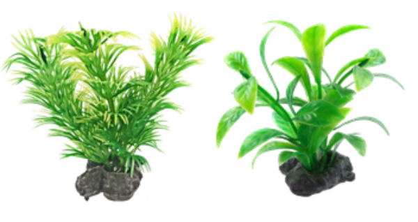 Tetra DecoArt Plant XS Green Refill (6 шт.) - фото 1