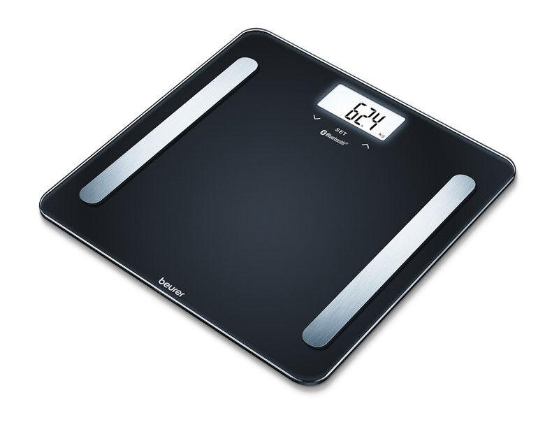 Beurer Весы диагностические BF 600 Чёрные (Бойрер) - фото 1