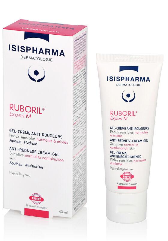 IsisPharma Гель-крем Ruboril Expert M от покраснений для чувствительной нормальной и комбинированной кожи 40мл - фото 1
