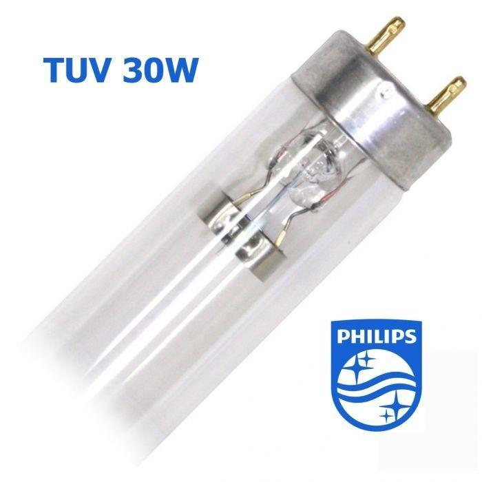 Philips Бактерицидная лампа TUV 30W G13 PHILIPS - фото 1