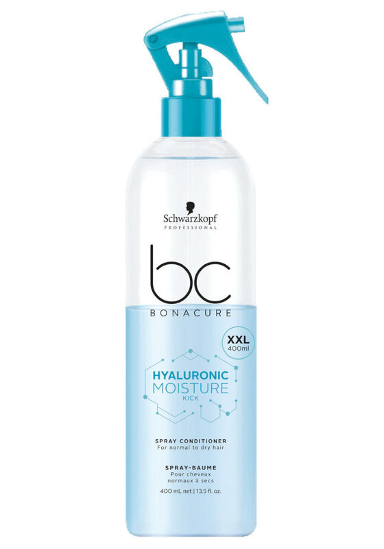 Schwarzkopf Professional Спрей-кондиционер для волос Hyaluronic Moisture Kick (Spray Conditioner For normal to dry hair), 400 мл - фото 1