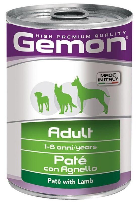 Gemon Dog Adult Pate Lamb 400гр. х 12 шт, - фото 1