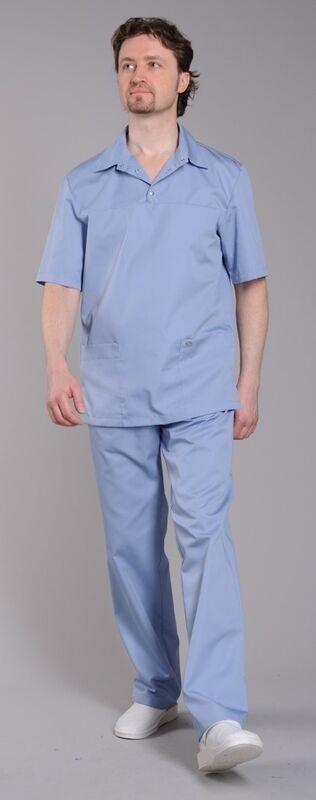 Доктор Стиль Блуза медицинская мужская Интерн (лл2213) - фото 3