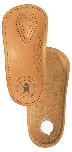 Тривес Полустельки ортопедические каркасные на полужесткой основе кожаные СТ-201 - фото 1