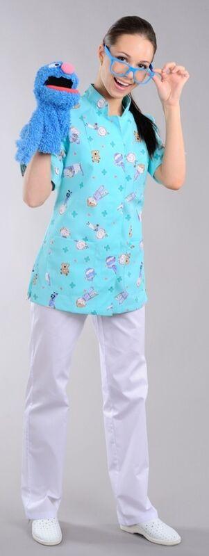 Доктор Стиль Блуза медицинская женская Педиатр (лс3231) - фото 4