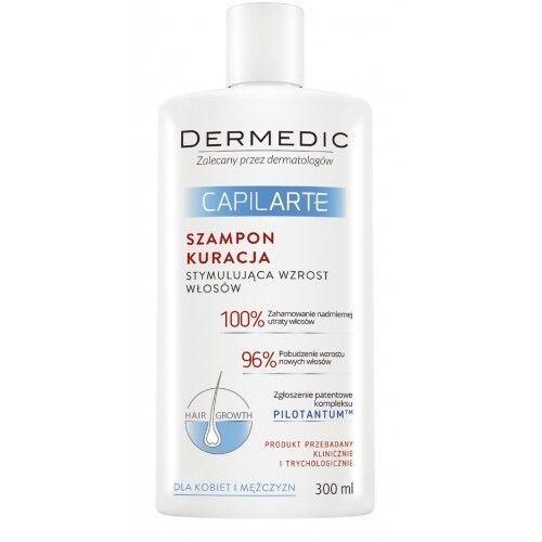 Dermedic CAPILARTE Шампунь-терапия стимулирующая рост волос 300мл - фото 1
