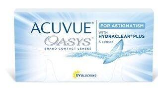 Контактные линзы Johnson&Johnson Контактные линзы Acuvue Oasys for Astigmatism - фото 1