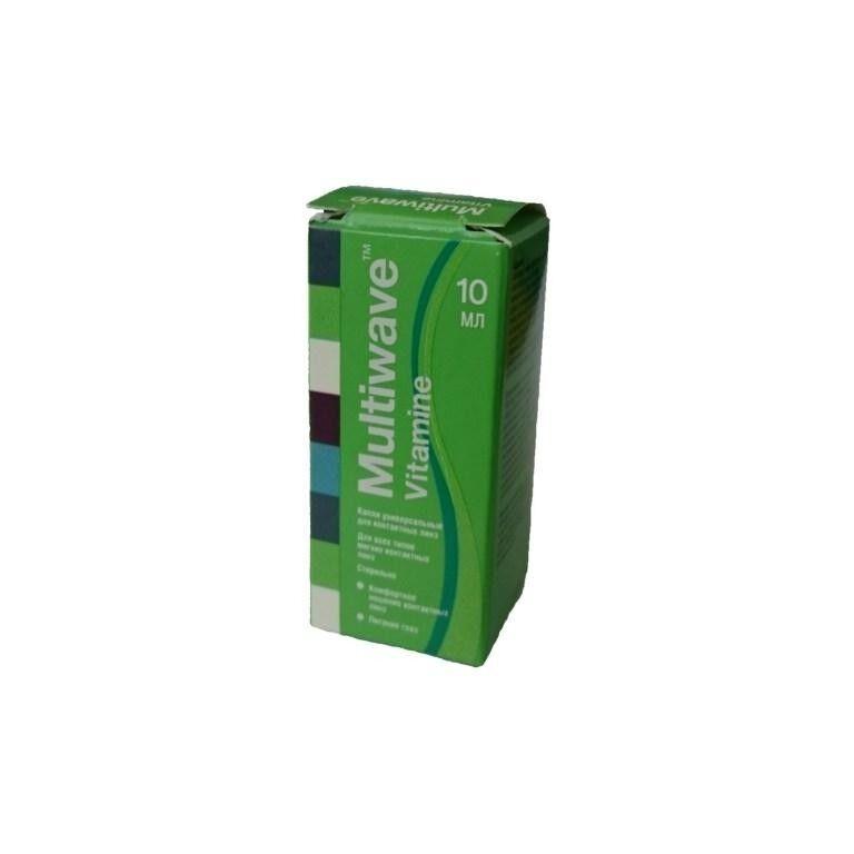 Средство по уходу и аксессуар для линз Чистая Река Капли Multiwave-Vitamine - фото 1