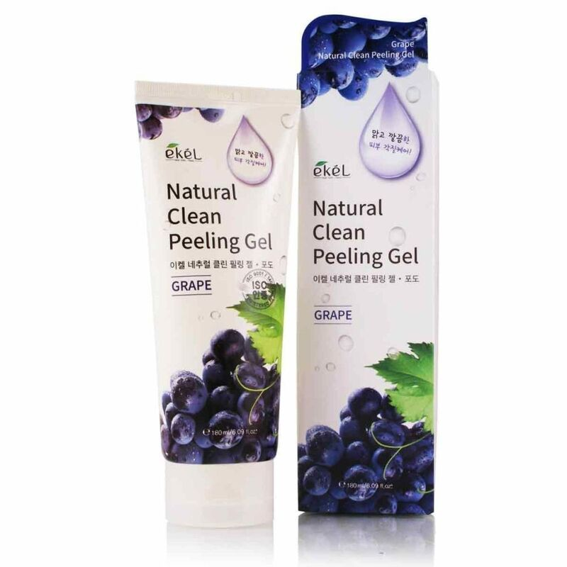 Ekel Пилинг-скатка с экстрактом винограда Grape Natural Clean Peeling Gel - фото 1