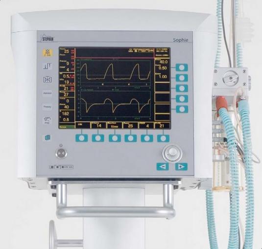 Медицинское оборудование Stephan Аппарат искусственной вентиляции легких SOPHIE - фото 1