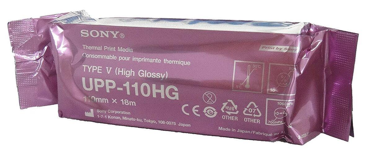 Медицинское оборудование Sony Термобумага для видеопринтеров UPP110HG - фото 1