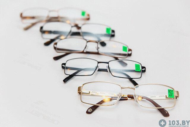 Очки Касияна Очки корригирующие в металлической оправах - фото 2