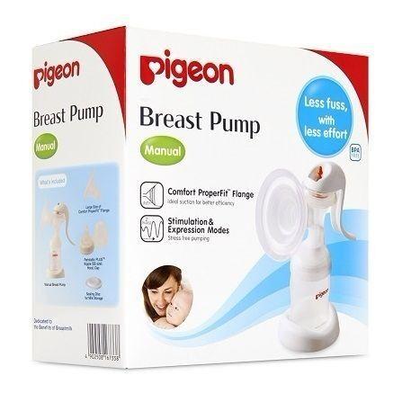 Молокоотсос Pigeon Молокоотсос ручной с двухфазной системой сцеживания breast pump manual - фото 2