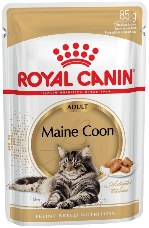 Royal Canin Royal Canin Maine Coon Adult (в соусе) 85 г. х 12 шт. - фото 1