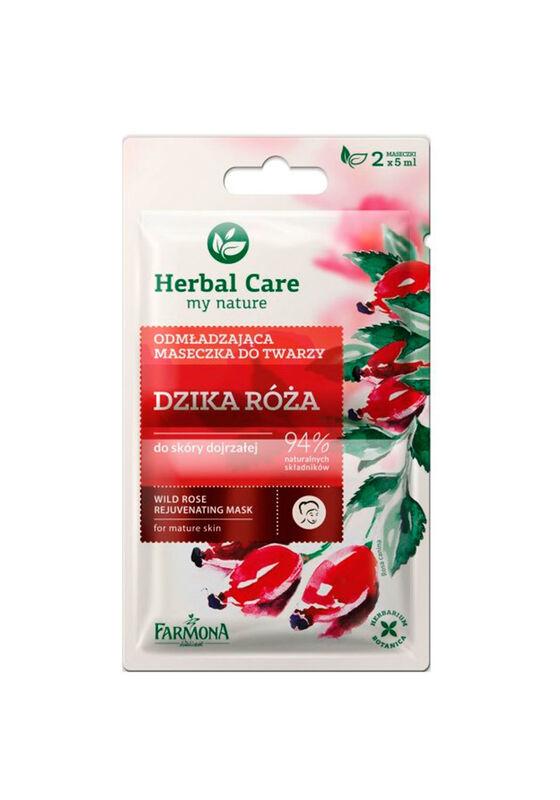 Farmona Маска для лица Herbal Care Шиповник омолаживающая2*5 мл - фото 1