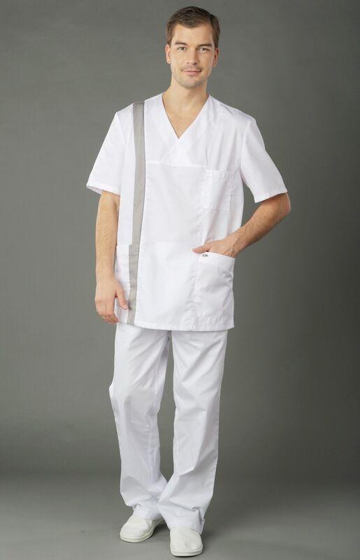 Доктор Стиль Блуза мужская Апрель - фото 7