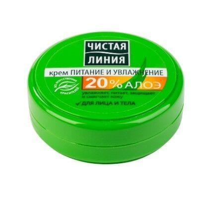 Чистая линия Крем «Питание и увлажнение» для лица и тела, 50 мл - фото 1