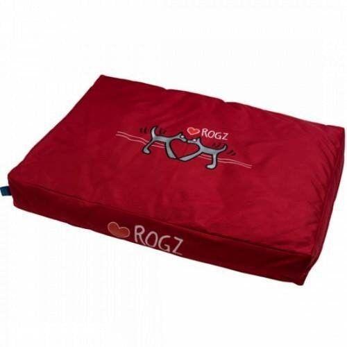 Rogz Лежак Spice Pod Flat Red Heart 83x56x10 см - фото 1