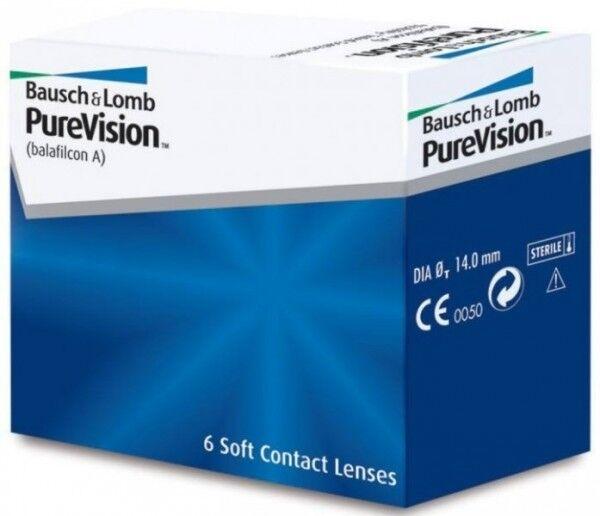 Контактные линзы Bausch+Lomb Pure Vision - фото 1