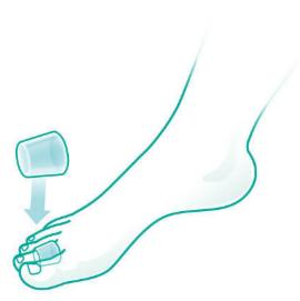 OPPO Подкладка для молоткообразных пальцев стопы 6720 - фото 2