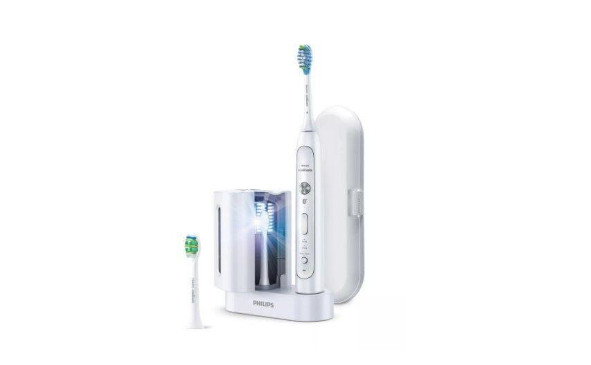 Philips Электрическая звуковая зубная щетка Sonicare FlexCare Platinum HX9172/14 - фото 1