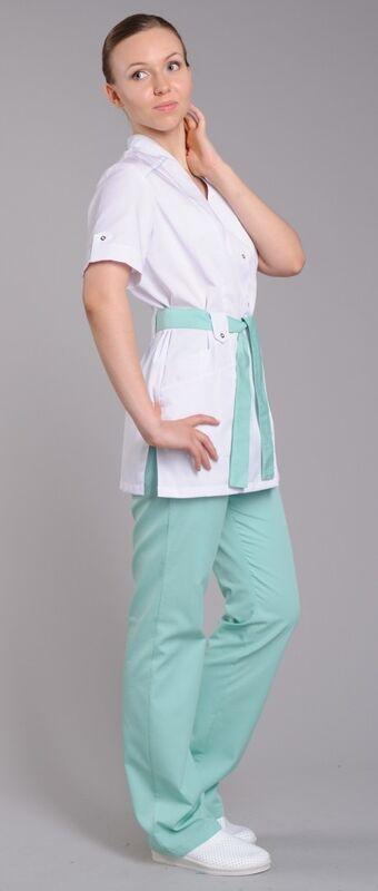 Доктор Стиль Блуза медицинская женская Ландыш (лу1226) - фото 3