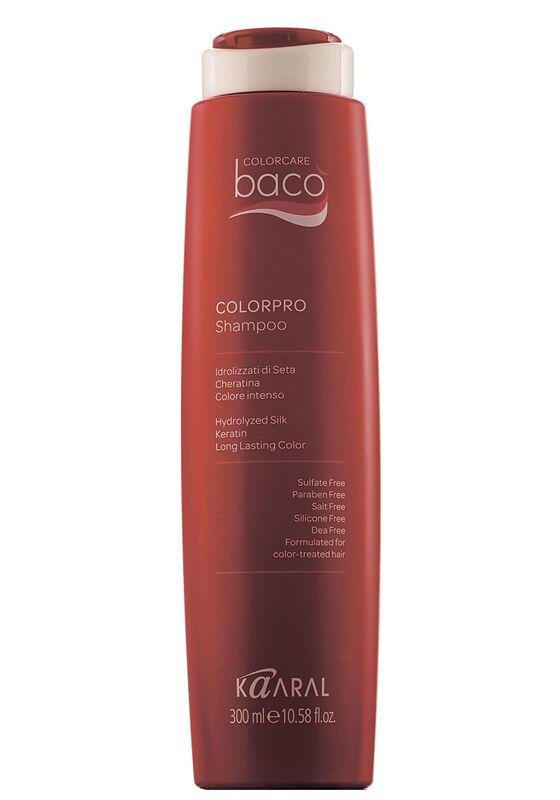 Kaaral Шампунь для окрашенных волос Васо Colorpro с гидролизатами шелка и кератином 300 мл - фото 1