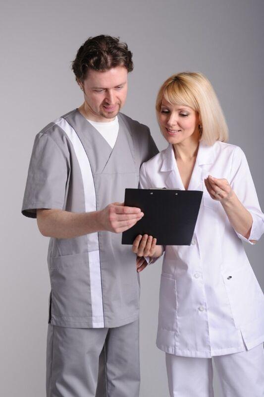 Доктор Стиль Блуза медицинская женская Ева (лс3220) - фото 2