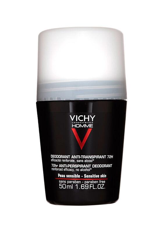 Vichy Дезодорант-антиперспирант 72Ч HOMME против избыточного потоотделения 50 мл - фото 1