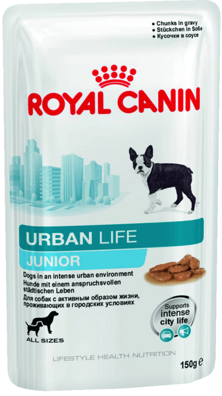 Royal Canin Urban Life Junior Wet - фото 1