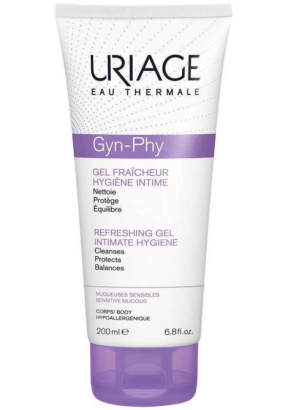 Uriage Гель для интимной гигиены Gyn-Phy освежающий 200 мл - фото 1