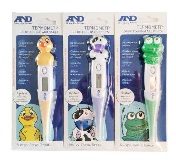Термометр A&D Термометр электронный DT-624 (утёнок) - фото 2