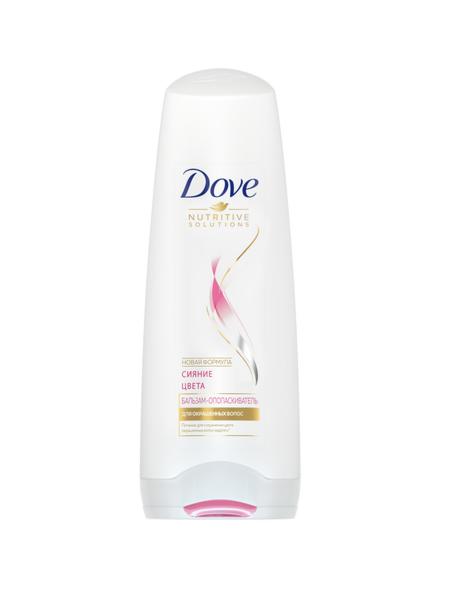 Dove Бальзам-ополаскиватель Dove Hair Therapy Сияние Цвета, 200 мл - фото 1