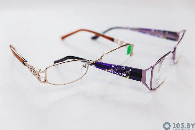 Очки Касияна Очки корригирующие в металлической оправах - фото 5