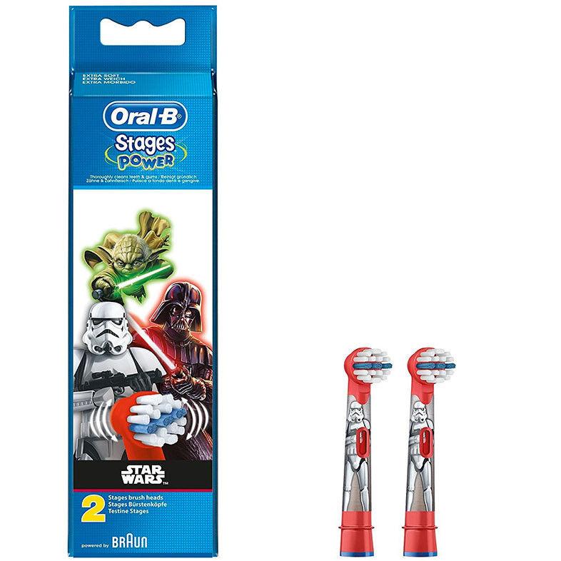 Braun Детские сменные насадки Oral-B Stages Power Star Wars EB10 (2 шт) - фото 1