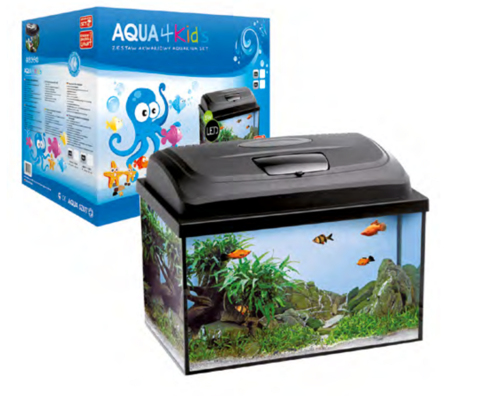 Aquael Аквариум AquaKids прямоугольный - фото 1