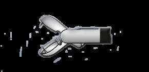 Медицинское оборудование ППП Щипцы биопсийные (с двумя иглами) Л-0032 - фото 1