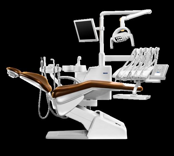 Стоматологическое оборудование Siger Стоматологическая установка U200 с верхней подачей инструментов - фото 1