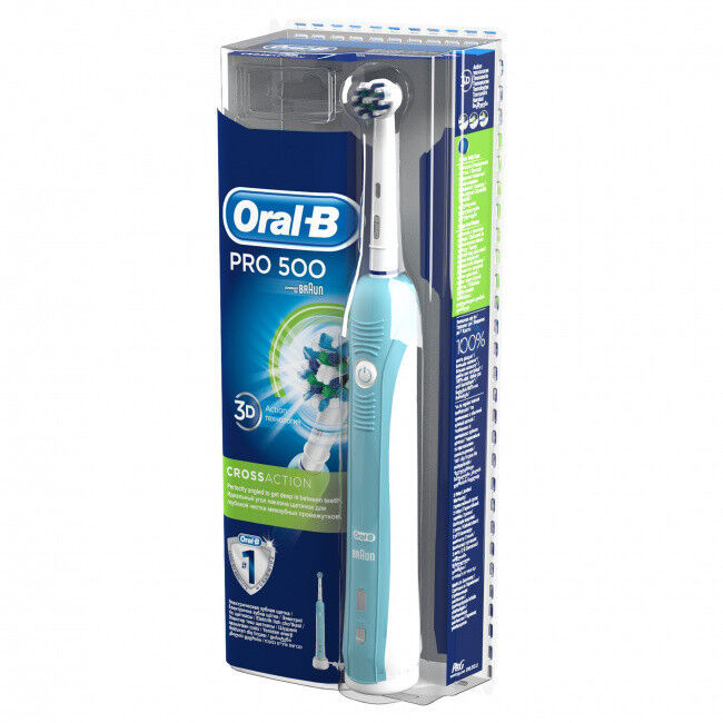 Oral-B Зубная щетка Pro 500 CrossAction (D16.513.U) - фото 2