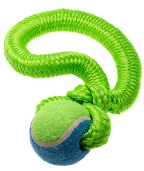 Comfy Игрушка для собак Gummy зеленая 26 см - фото 1