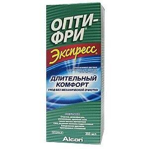 Средство по уходу и аксессуар для линз Alcon Opti-Free Express 355 мл - фото 2