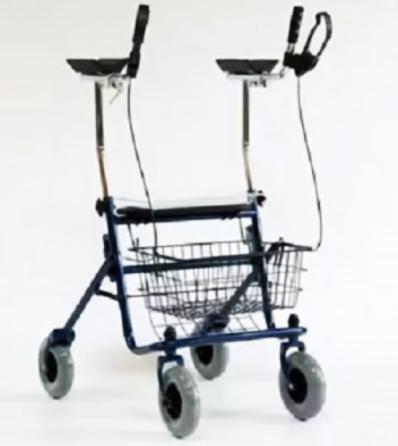 Прокат медицинских товаров Мега-Оптим Ролляторы 4-х колесные LK 7010 - фото 1